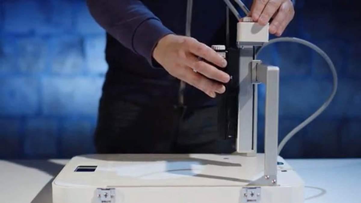 Разработали 3D-принтер, который может печатать едой