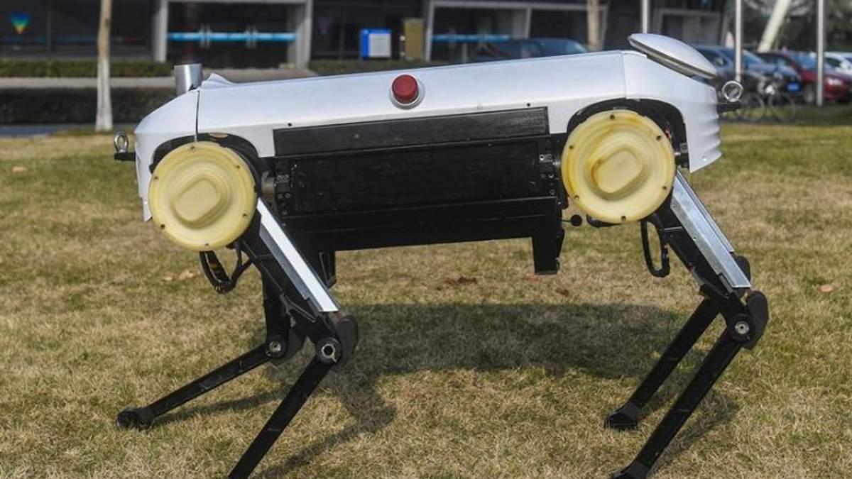 """Китайські інженери представили """"чотирилапого"""" робота на ймення Цзюеін: фото"""