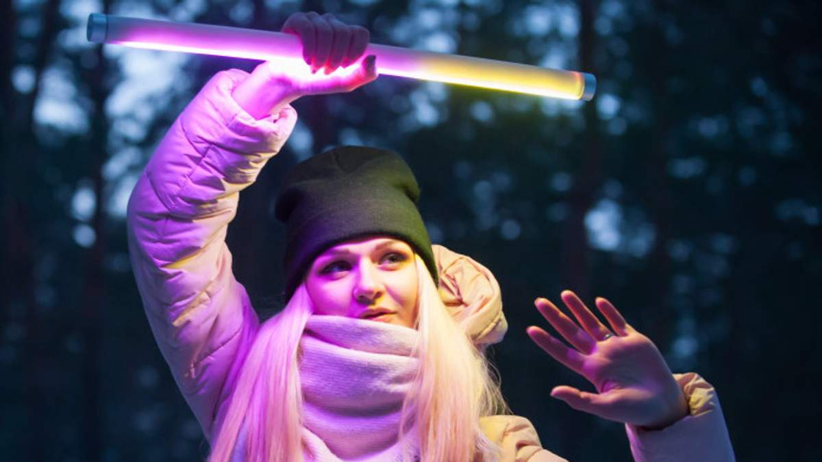 Украинский разработчик представил LED-лампу для креативных фото в Instagram