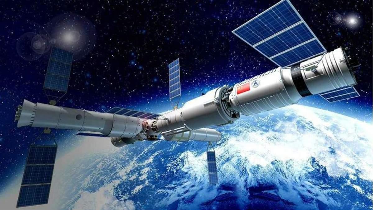 """Китайская космическая станция """"Тяньгун-1"""" падает на Землю: угрожает ли это людям"""