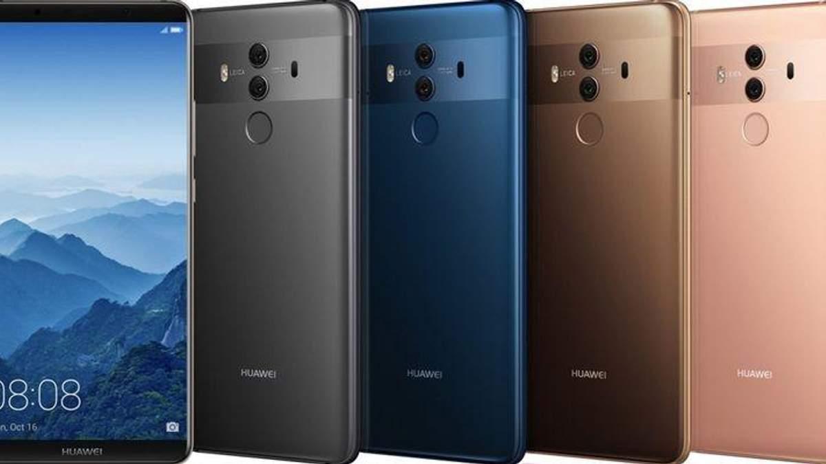 Смартфон Huawei Mate X встановить рекорд щодо об'єму постійної пам'яті