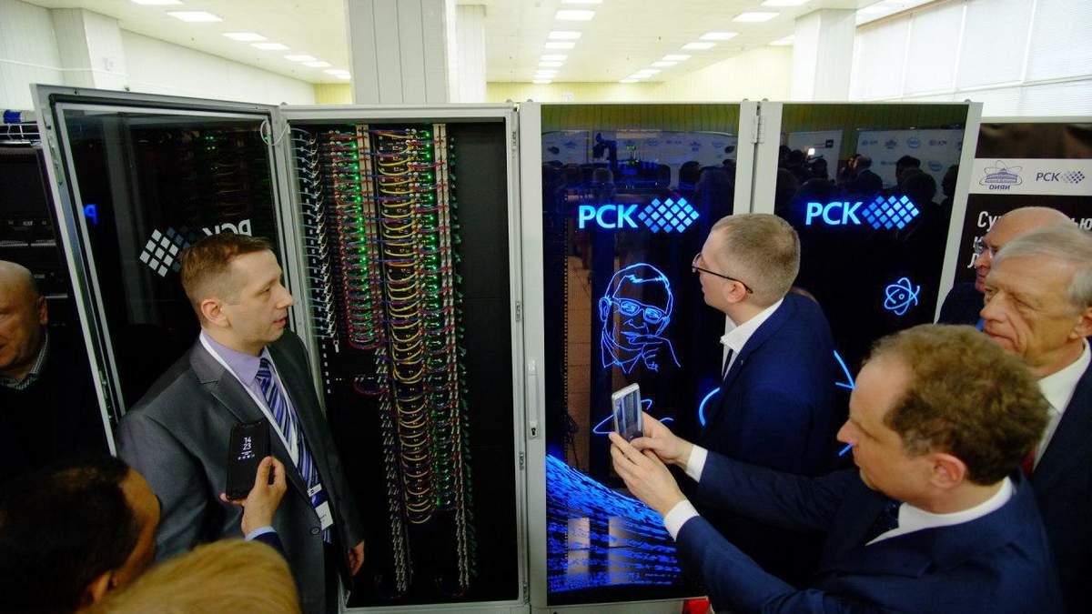 В Росії презентували суперкомп'ютер