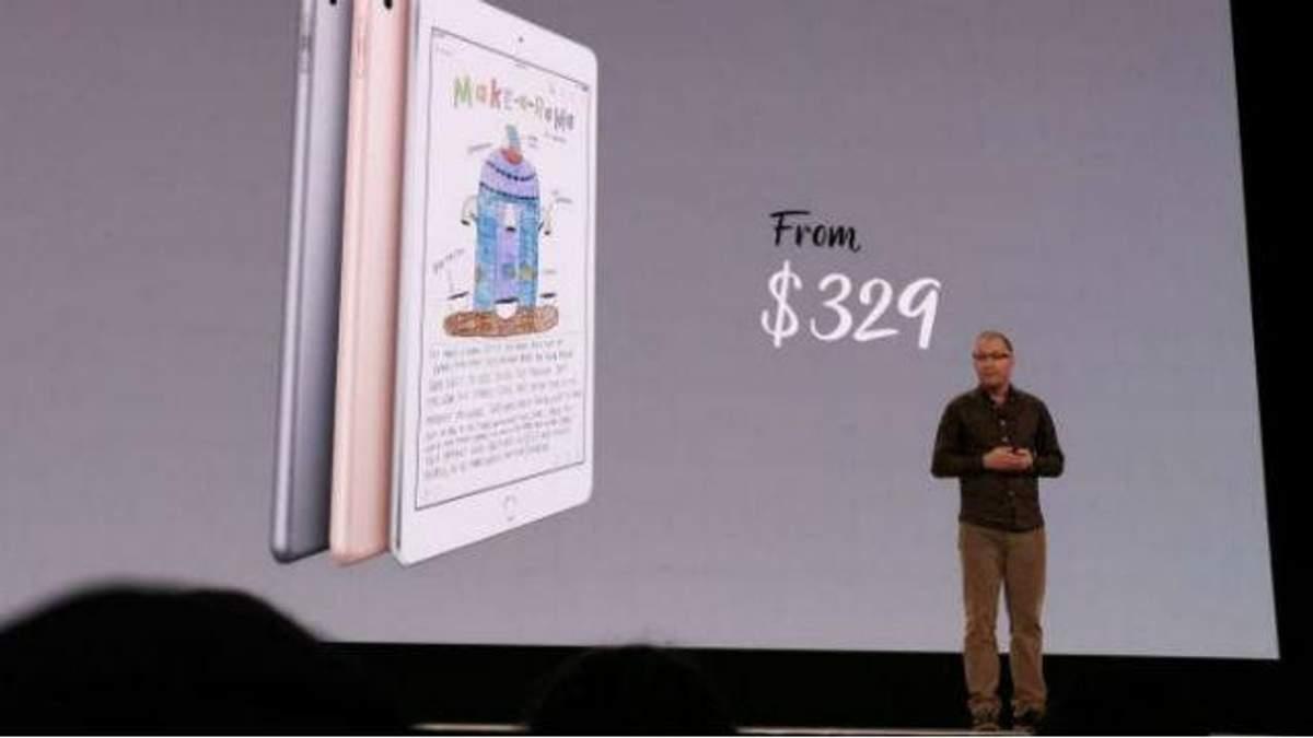 Apple представила новий iPad