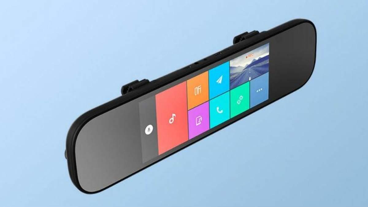 Xiaomi создали умное зеркало для авто