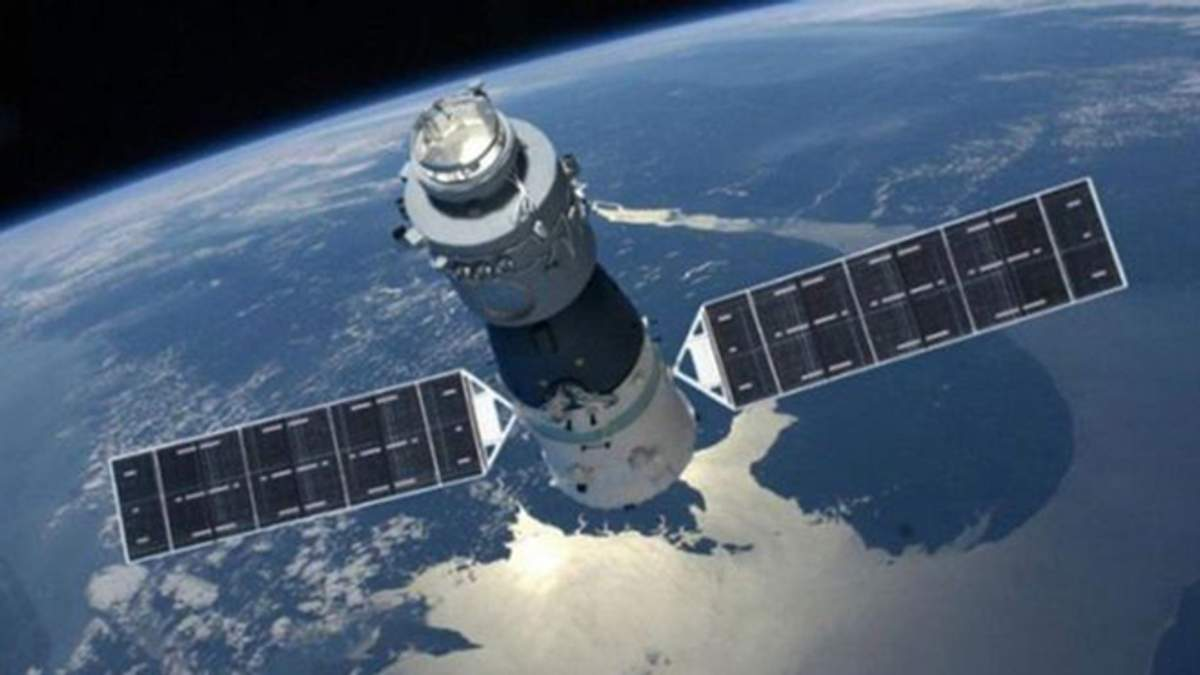 """Китайська космічна станція """"Тянгун-1"""""""