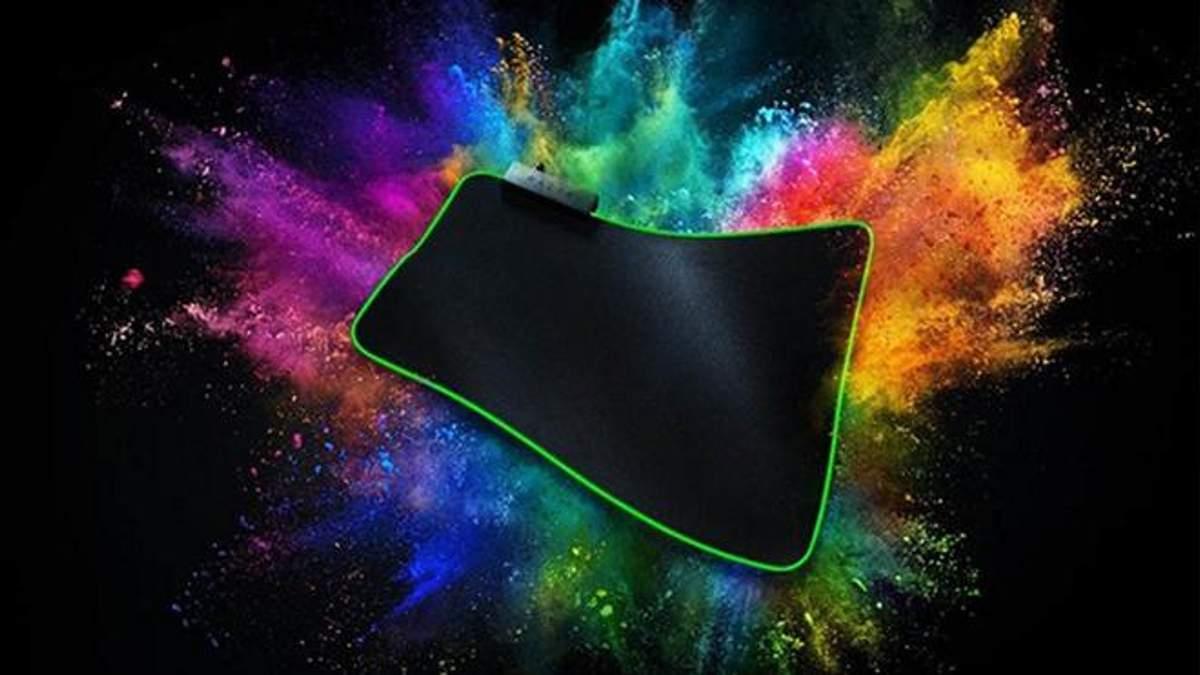 Razer презентував новий яскравий килимок Goliathus