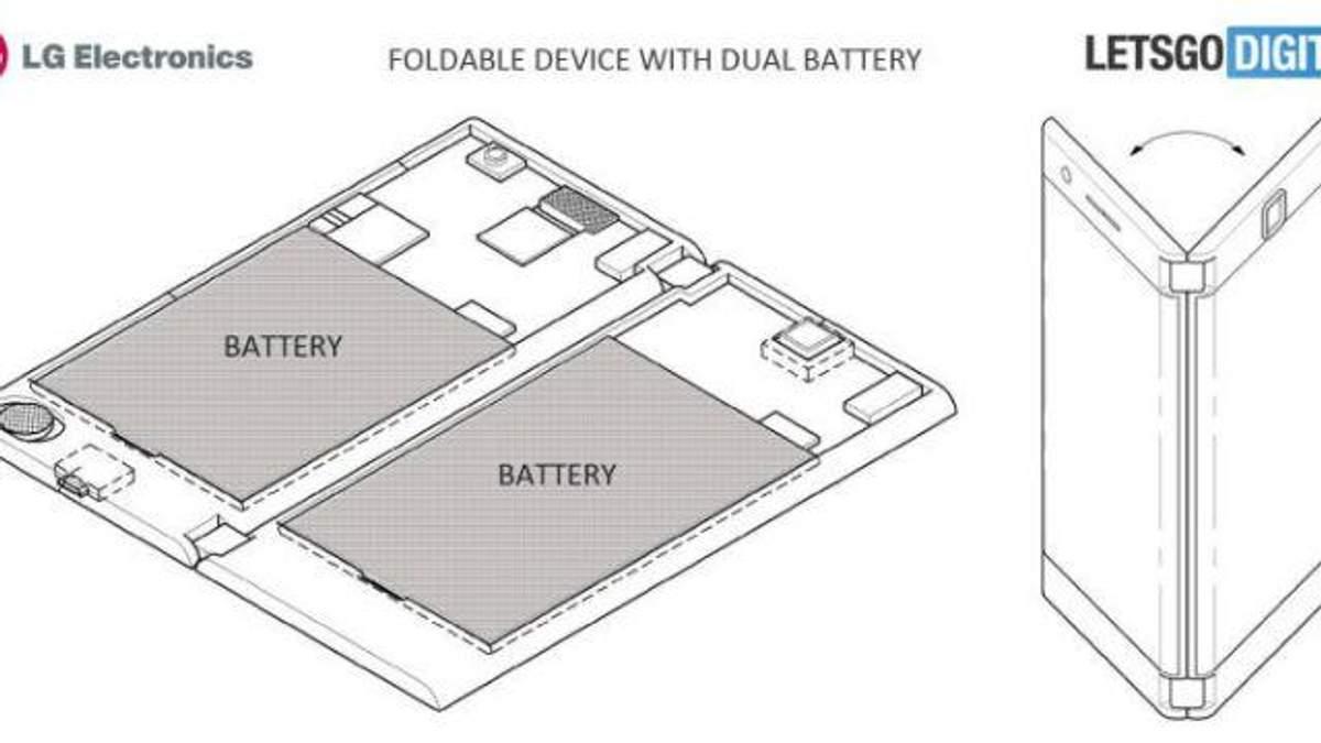 LG запатентувала смартфон з двома екранами