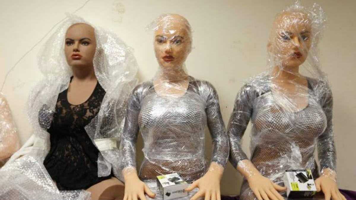 Вчені побачили небезпеку у секс-роботах
