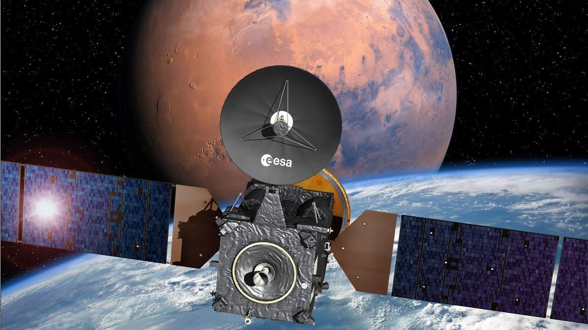 Зонд, предназначенный для исследования жизни на Марсе, вышел на рабочую орбиту