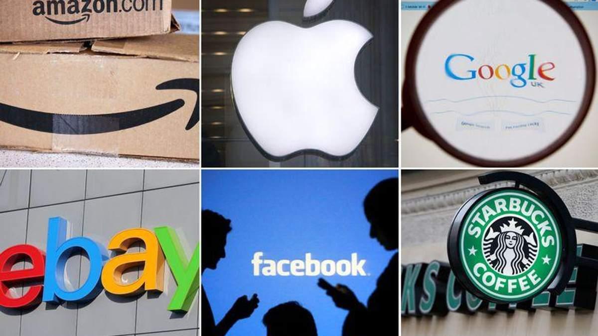 Масштабные компании мира