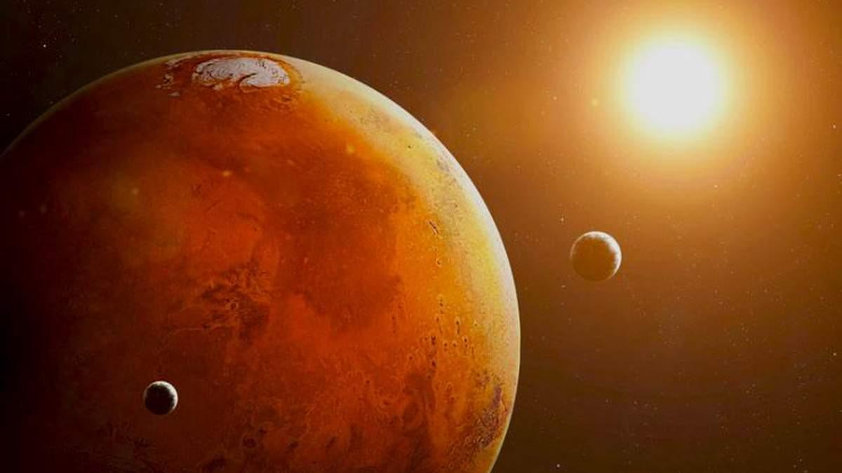 Супутники Марсу виникли внаслідок зіткнення планети із іншою планетою-карликом