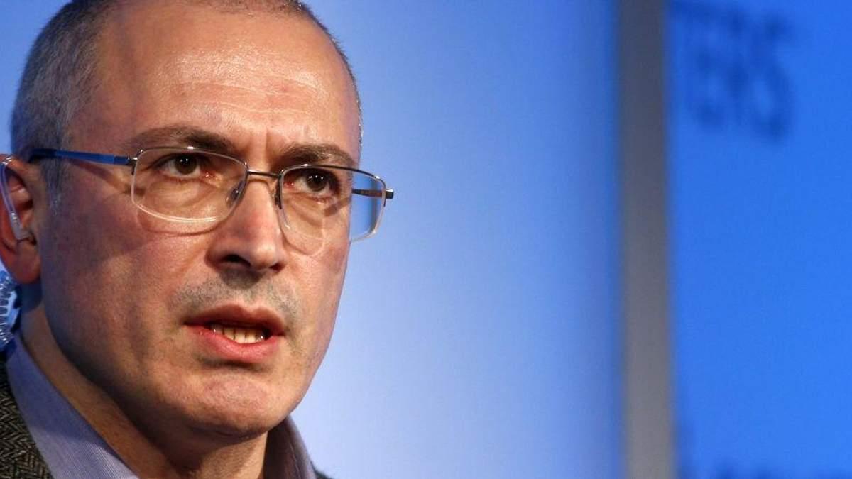 Михайло Ходорковський розкритикував блокування Telegram в Росії