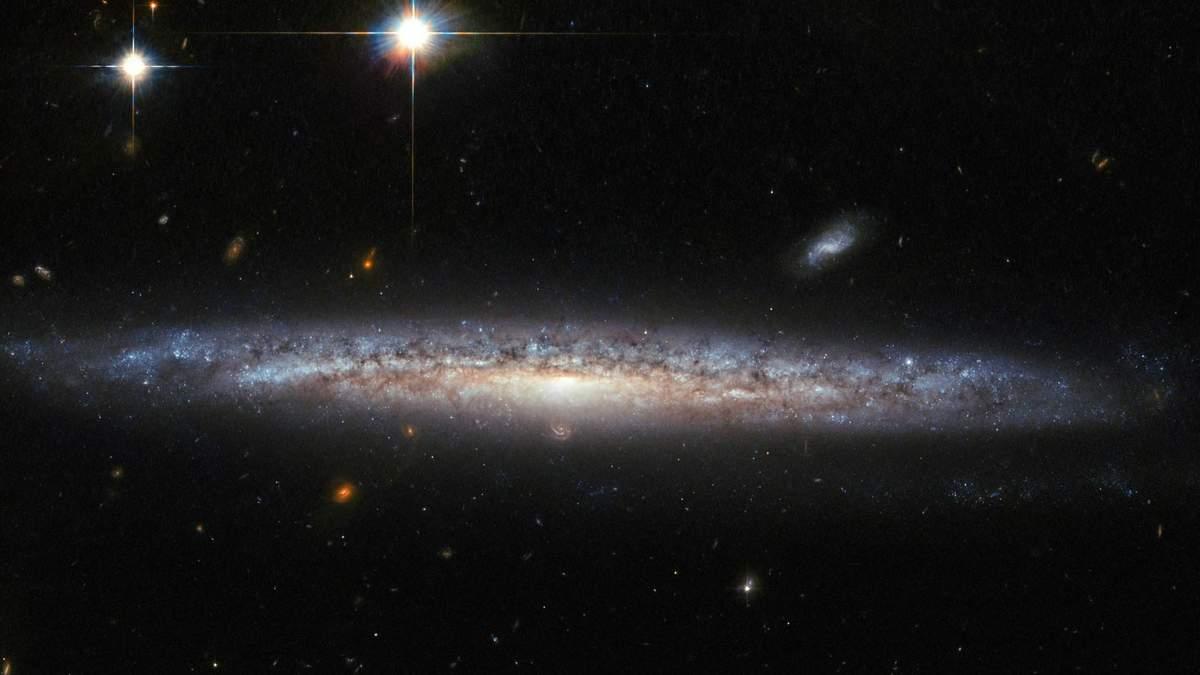 """Телескоп """"Хаббл"""" виявив речовину, яка сповільнює зореутворення в галактиках"""