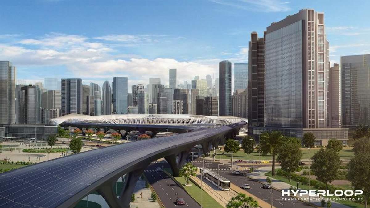 Первую линию Hyperloop планируют запустить уже через 2 года