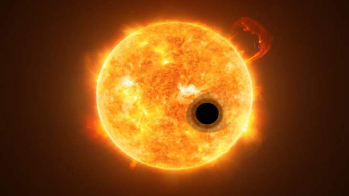 """Сенсационное открытие: """"Хаббл"""" обнаружил газ в атмосфере экзопланеты"""