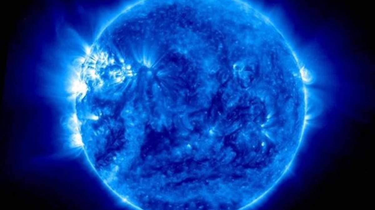 Неймовірні кадри: NASA опублікувало відео, на якому Сонце має блакитний колір