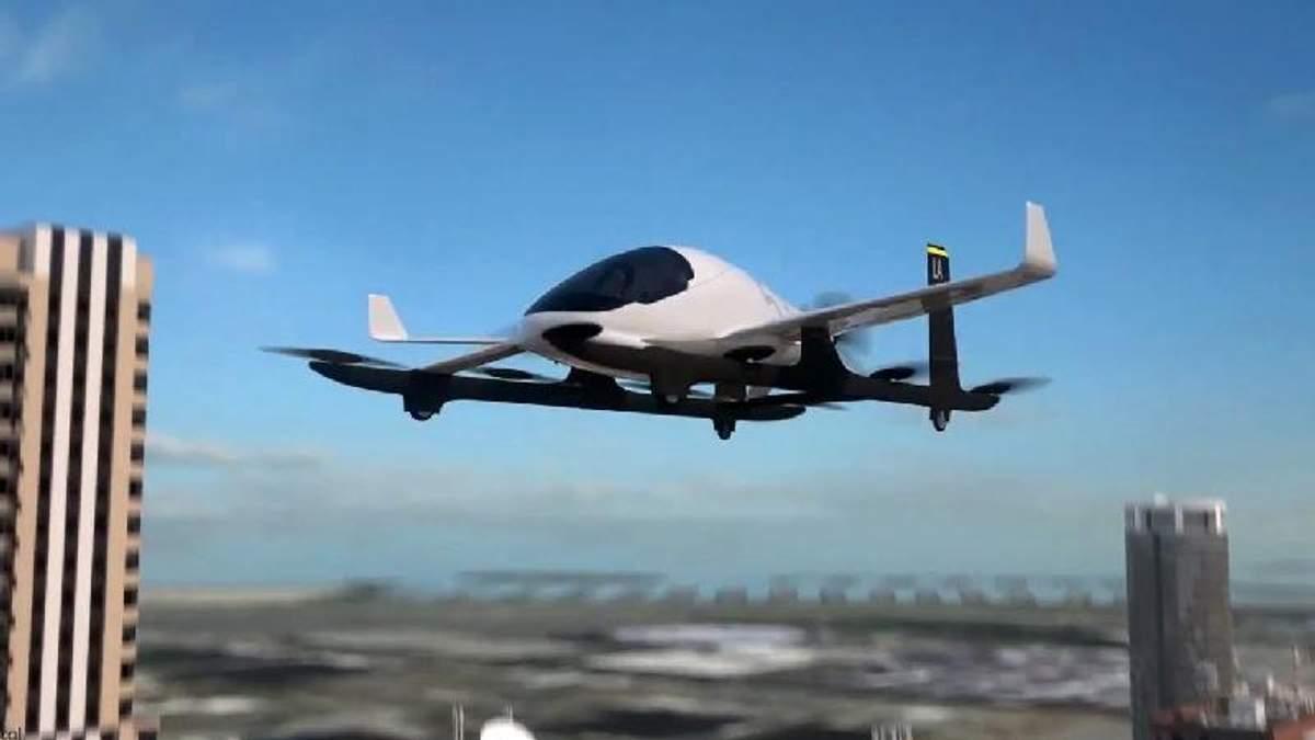 Майбутнє вже настало: Uber показав прототип першого літаючого таксі