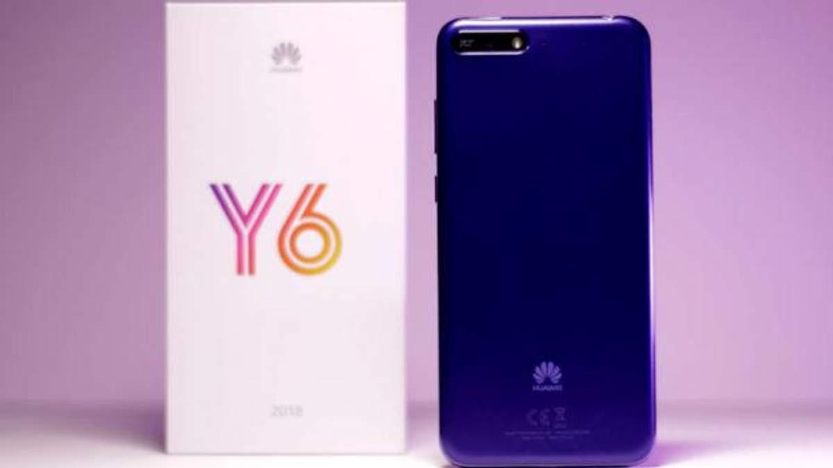Смартфон Huawei Y6 надійшов у продаж в Україні: ціна приємно вразила