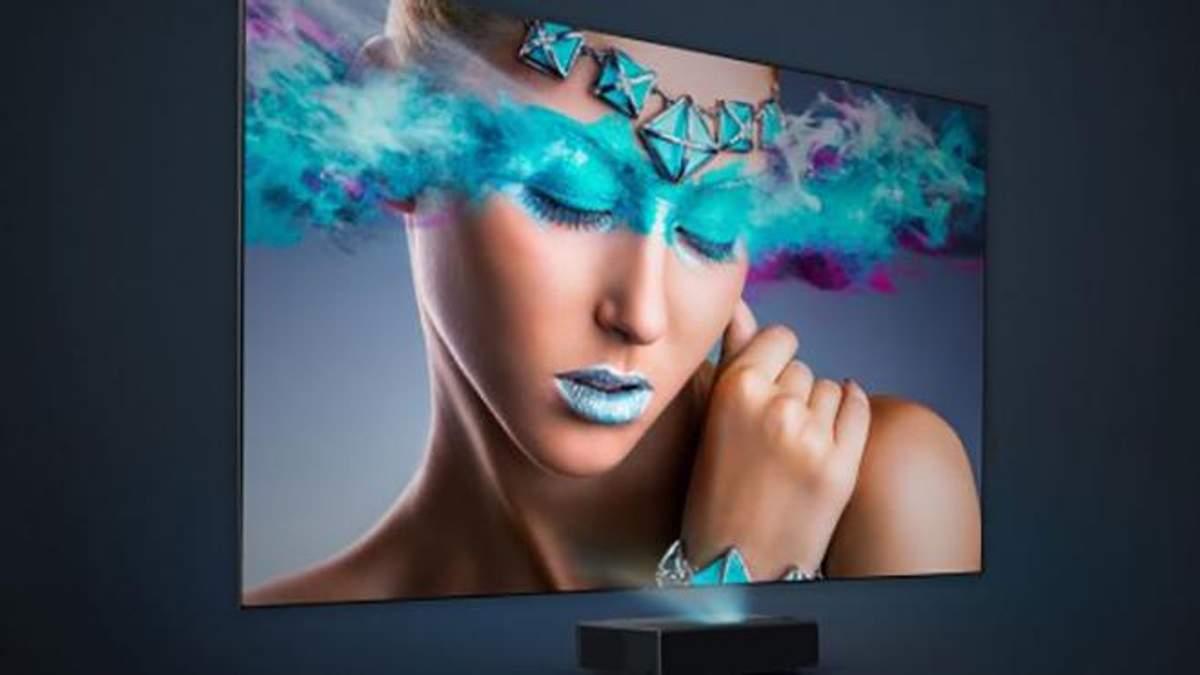 Xiaomi презентувала новий лазерний 100-дюймовий телевізор Fabulus F1