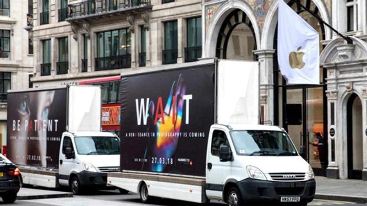 Huawei потролив Apple у рекламній кампанії