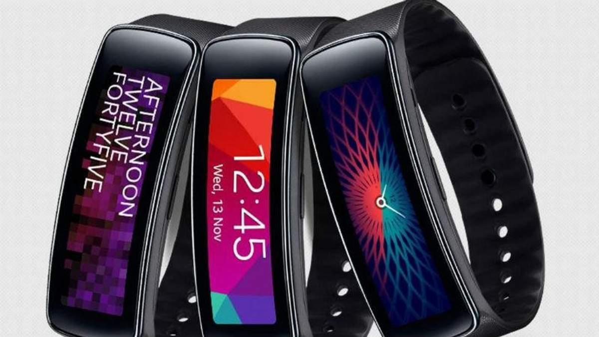 Новинка от Samsung: появилась информация о фитнес-браслете Gear Fit Plus