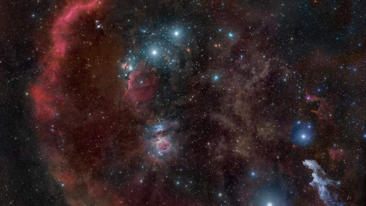 Молекулярна хмара Оріона