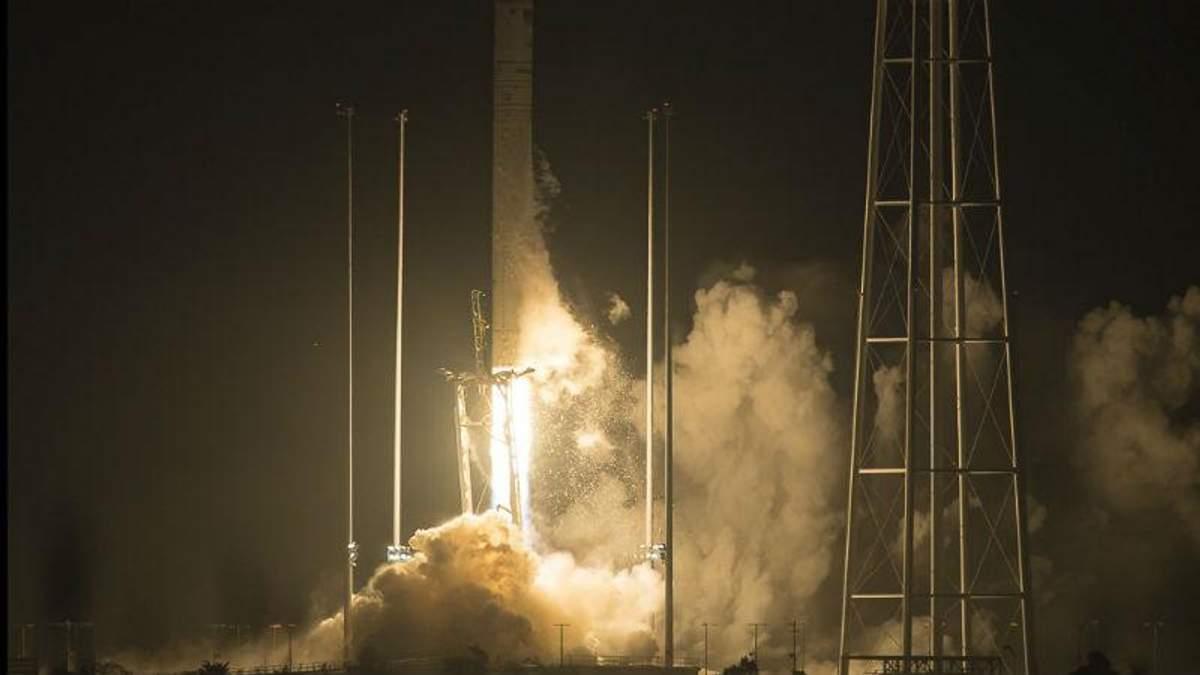 Україно-американський проект – NASA запустила у космос корабель Антарес: фото і відео
