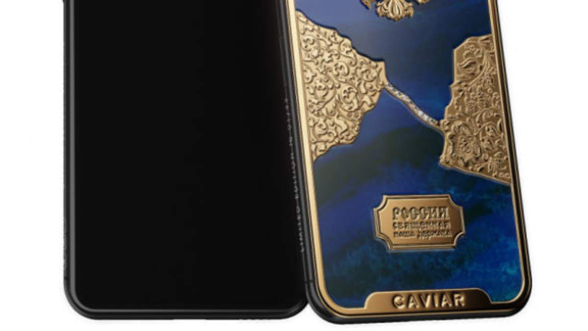 Росіяни намалювали Кримський міст з діамантів на iPhone X: фото