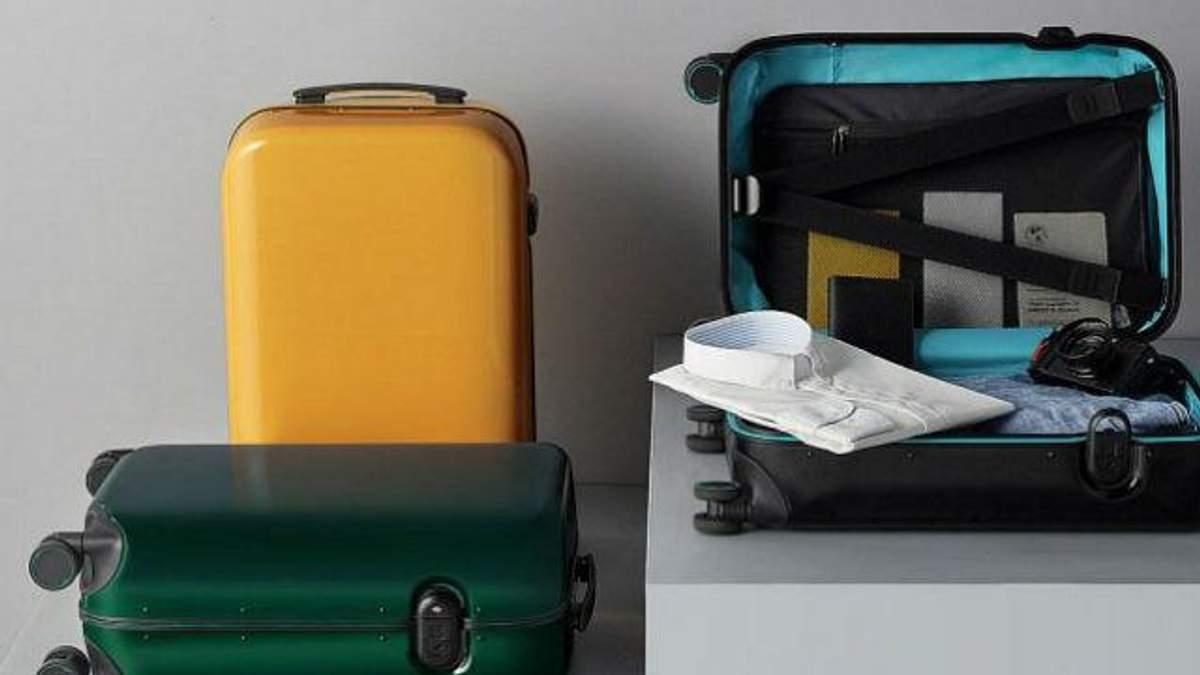Xiaomi представила валізу, що відмикається за відбитком пальців: ціна новинки