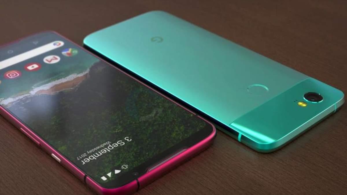 В сети показали новый рендер Google Pixel 3