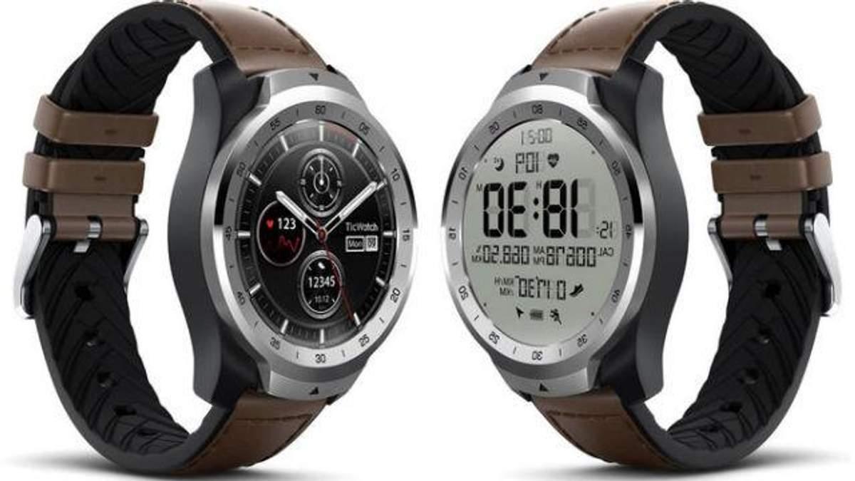 Mobvoi випустила оригінальний смарт-годинник з двома екранами: фото