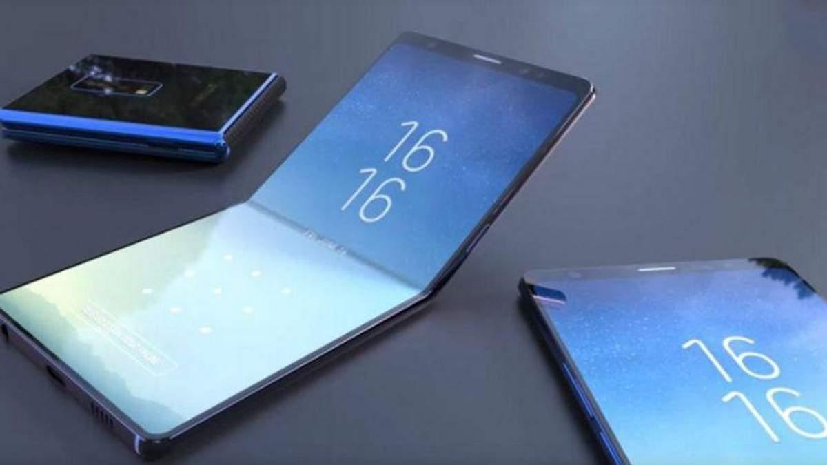 Huawei начала производство смартфона с гибким экраном