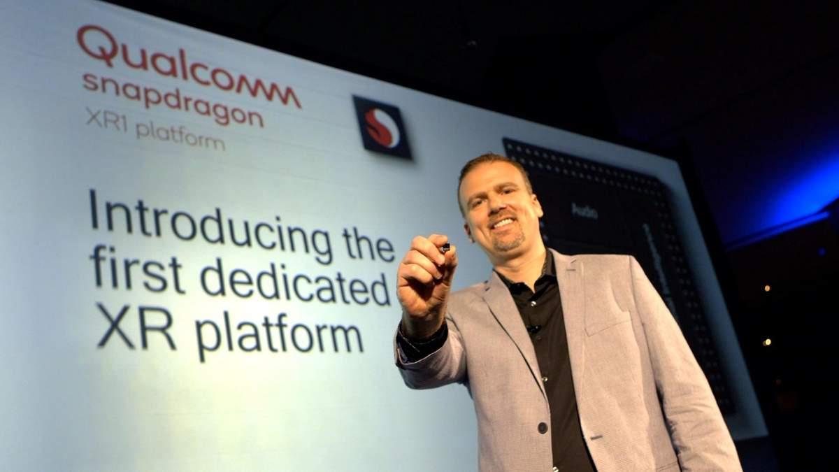 Qualcomm презентувала новий чіп Snapdragon XR1 для віртуальної та доповненої реальності