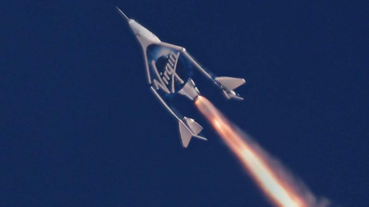 За крок до космічного туризму: компанія Virgin успішно випробувала корабель VSS Unity