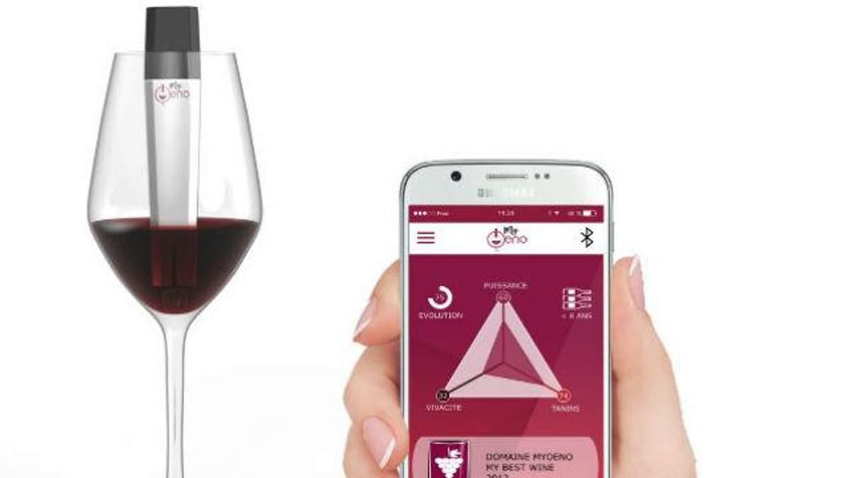 Ґаджет визначає міцність та склад вина