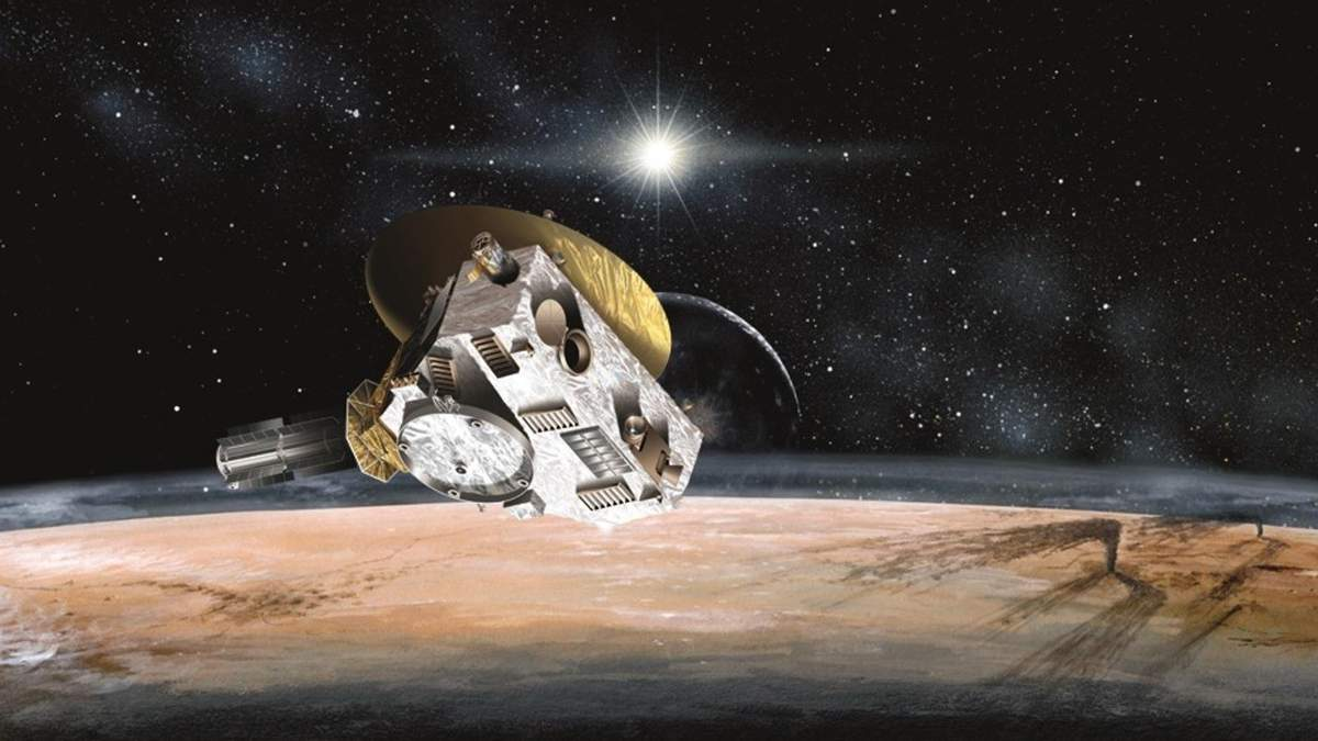 Міжпланетна станція New Horizons