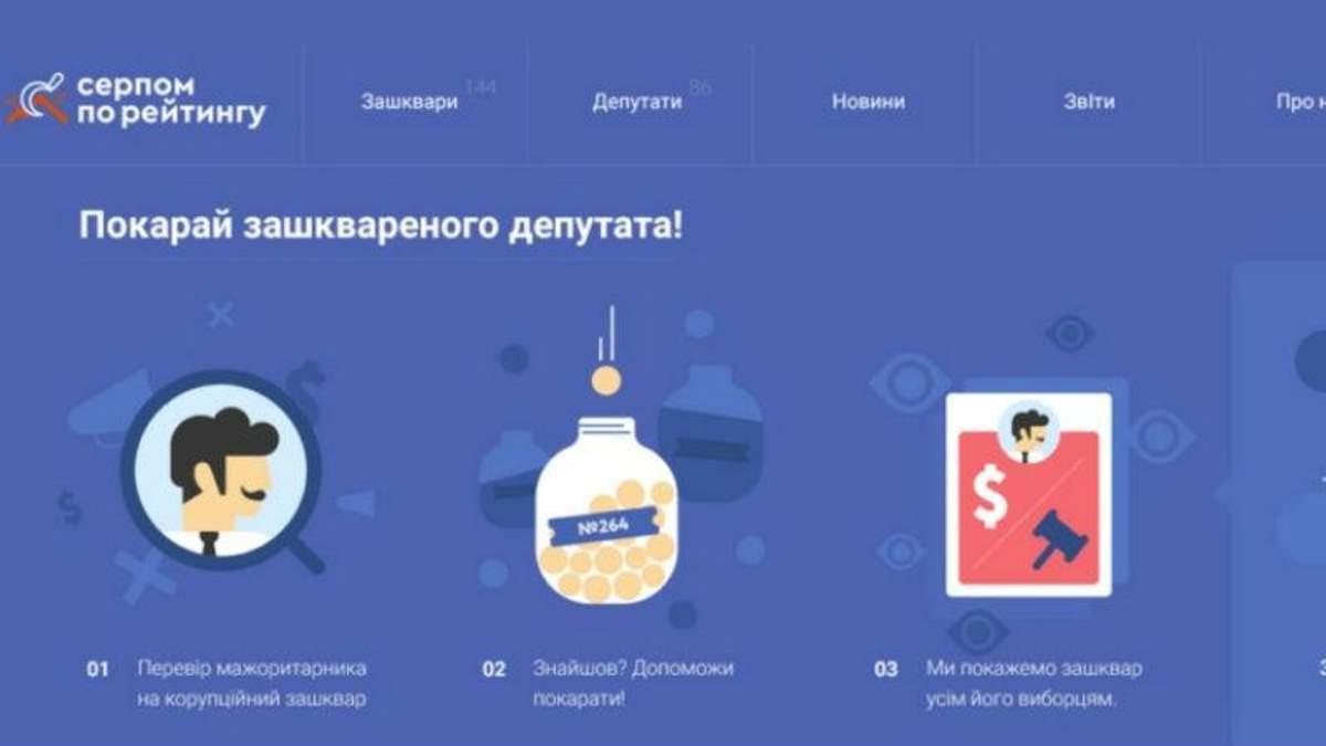 """Создали сайт, на котором можно """"наказать депутата"""""""