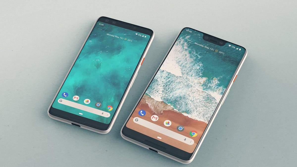 Прототип Google Pixel 3