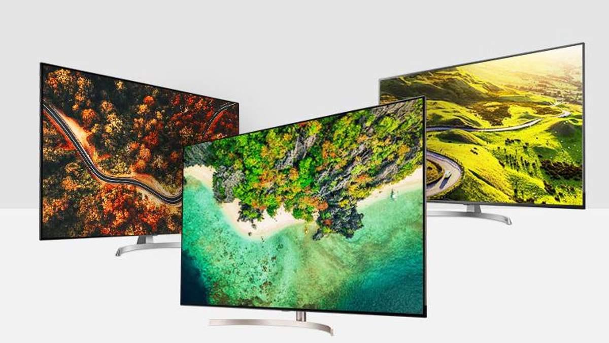 Новые телевизоры от LG