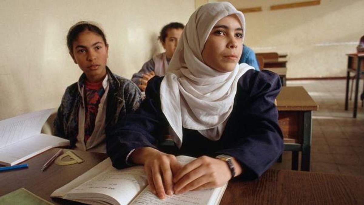Школьники Алжира