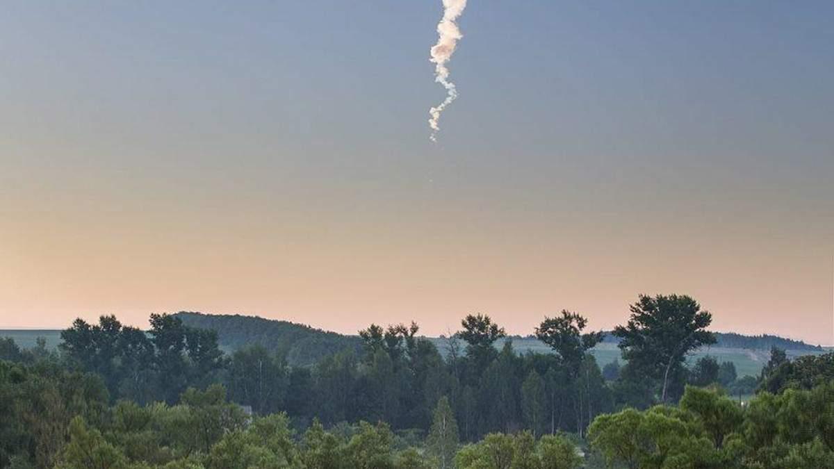 Жители сразу нескольких российских областей имели возможность наблюдать в небе уникальное явление