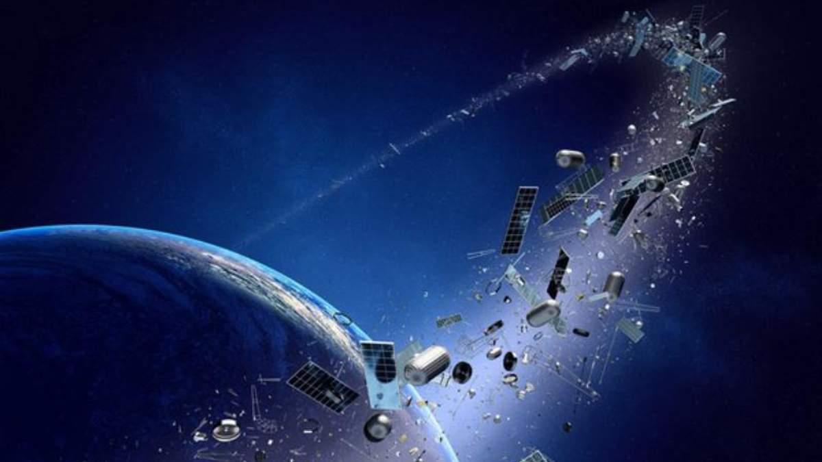 Науковці розпочали експерименти зі знищення космічного сміття
