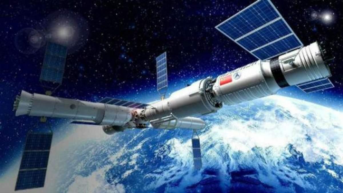 "Космічна станція ""Тяньгун-2"""