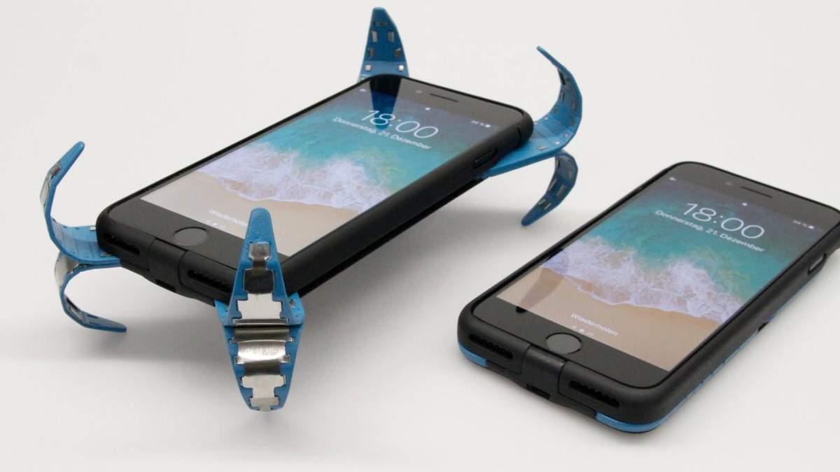 """Инженер презентовал """"подушку безопасности"""" для смартфонов"""