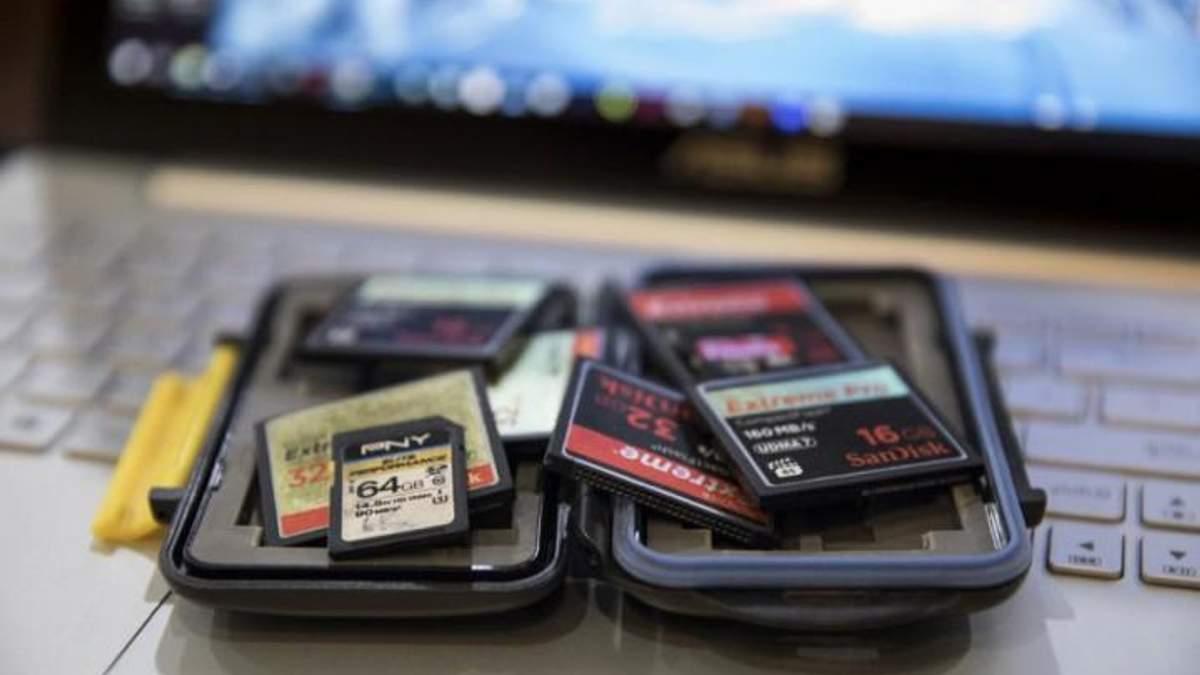 SD-карти зможуть зберігати до 128 ТБ даних
