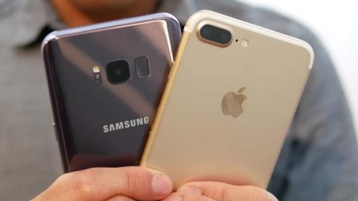 Порція кумедних відео від Samsung про iPhone X