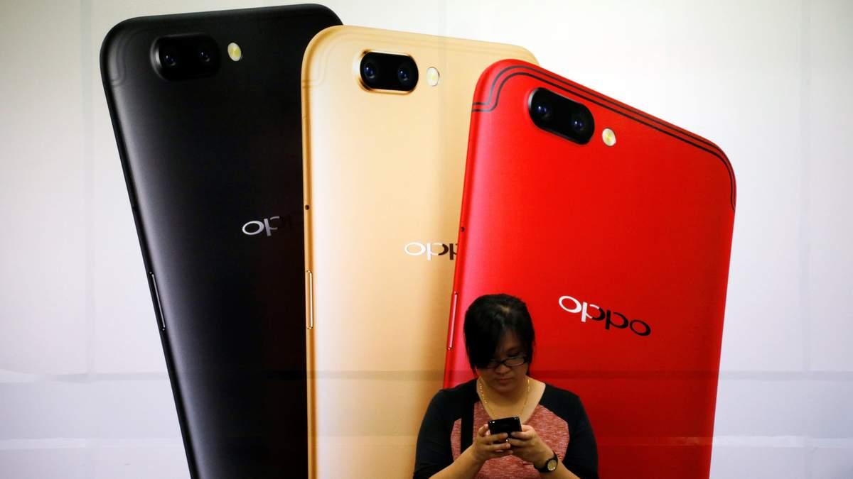 Смартфон Oppo R17 отримає незвичний дизайн