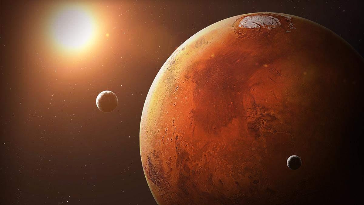 Марс максимально наблизиться до Землі