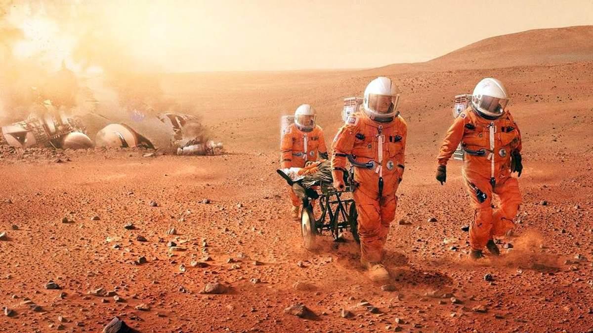 На Марсе самое опасное для человека – это заряженные солнечные частицы.