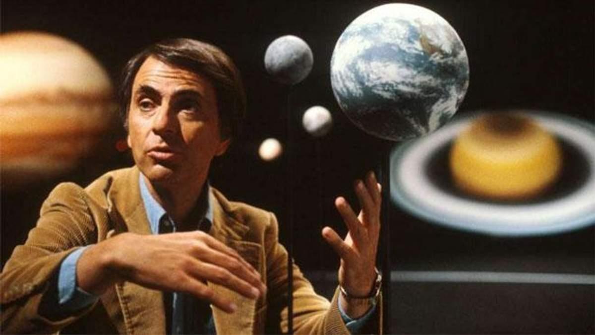 Карл Саган – вчений українського походження, який простими словами розкривав таємниці Всесвіту